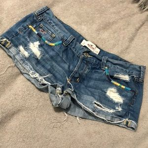 Hollister Shorts Distressed